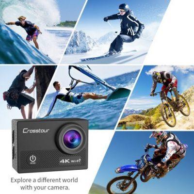 Crosstour CT9000 cámara deportiva 4K