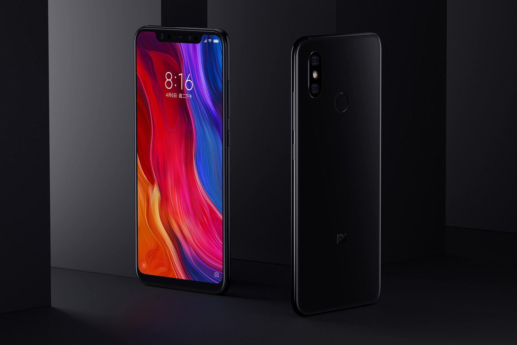 Xiaomi Mi8. Black