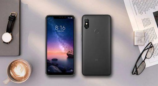 Xiaomi redmi note 6 pro notch
