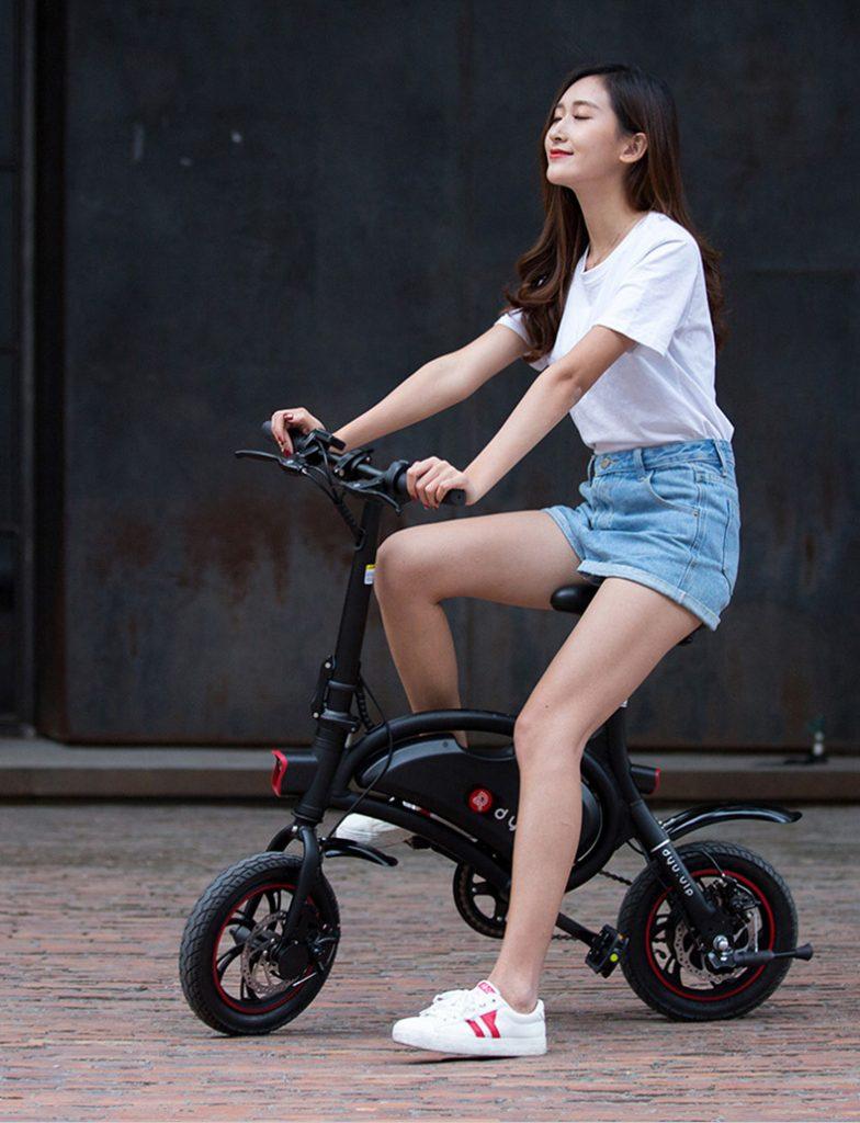 bicicleta electrica f wheel DYU D2