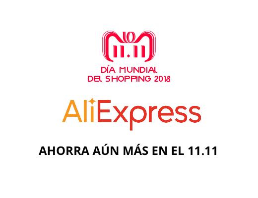 11.11 Aliexpress 2018