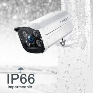 Cámara seguridad IP FREDI 720P WiFi