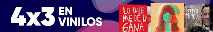 4x3 en Vinilos en el Aniversario FNAC