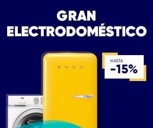 Aniversario Fnac ofertas en Grandes Electrodomésticos