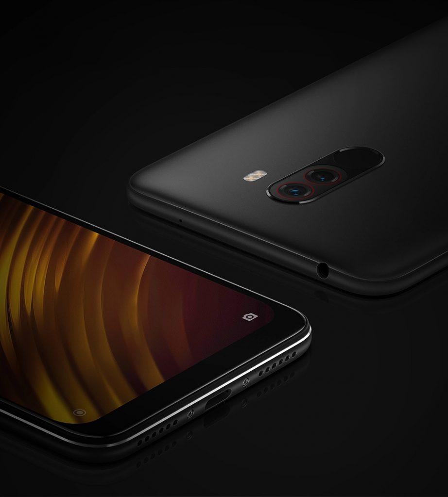 Xiaomi Pocophone negro. Snapdragon 845 más barato en el Amazon Prime Day