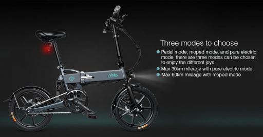 bicicleta eléctrica Fiido d2. No todo es un patinete eléctrico
