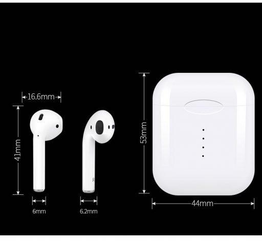 Auriculares Bluetooth 110 tws. Competencia para los Xiaomi AirDots