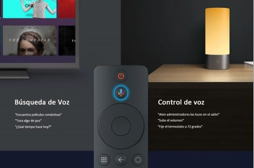 TV Box con control de voz