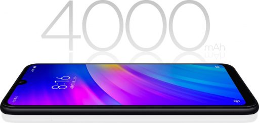 Xiaomi apuesta por las baterías grandes en su marca RedMi. 4000 mAh para tener más de un día de autonomía.