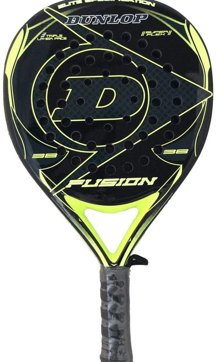Pala de Pádel Dunlop Fusion Elite Amarilla 2019