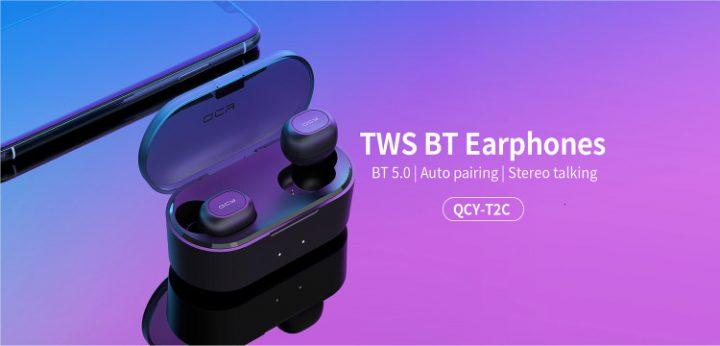 QCY T2C TWS Auriculares Bluetooth Inalámbricos superventas en el black friday