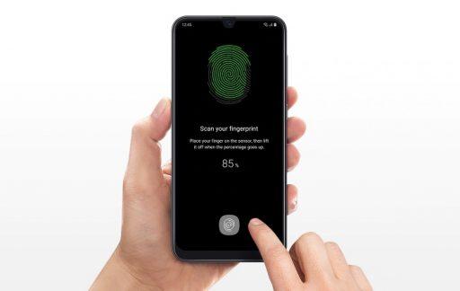 Sensor de huellas bajo la pantalla en un móvil de menos de 400€. Samsung la lía en la Gama Media con el Galaxy A50