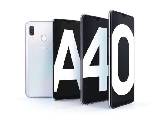 Comprar el Galaxy A40 AL MEJOR PRECIO