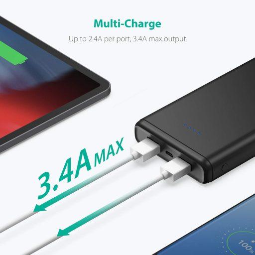 Batería Externa RavPower 20000 mahal Mejor Precio