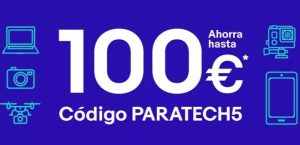 Cupón eBay PARATECH5