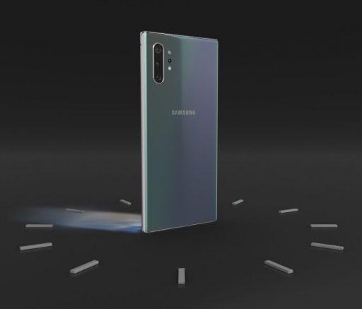 Batería con carga rápida de 45W, pero tendrás que comprar aparte el cargador Premium del Galaxy Note 10+