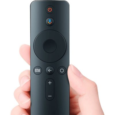 Mando Minimalista para la TV de Xiaomi. Los botones no parecen estar de moda