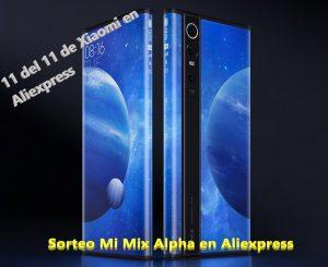 Sorteo del Xiaomi Mi Mix alpha