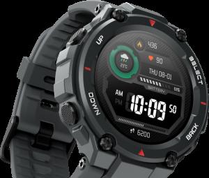 Smartwatch Amazfit T-Rex es ideal para los amantes de los deportes de riesgo