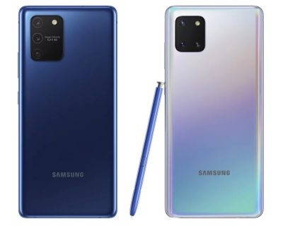 Confirmados Samsung S10 lite y Note 10 lite