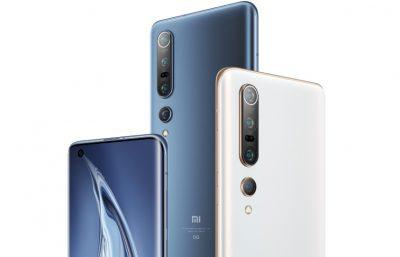 Modelo Xiaomi Mi 10 disponible en 3 colores, todos igual de baratos