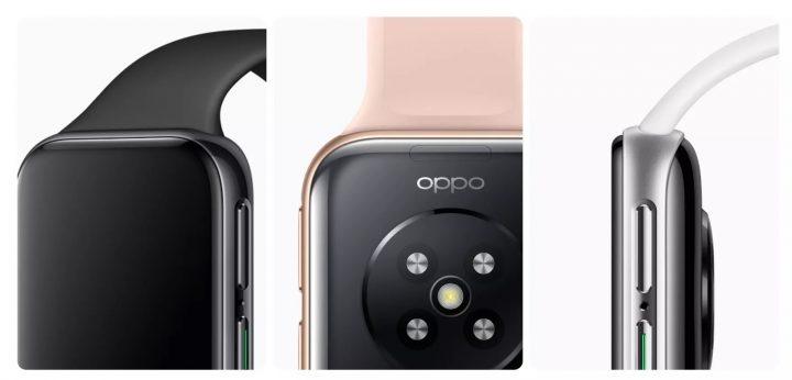 diseño muy cuidado para el Oppo Watch.