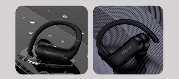 QCY T6 TWS. Los auriculares con gancho para evitar caidas al mejor precio online.