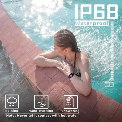 Resistencia al Agua IP68 para el Smartwatch lifebee el reloj barato que querras comprar