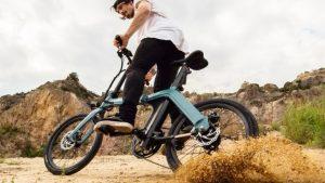 Bici Electrica Urbana con estilo minimalista y joven
