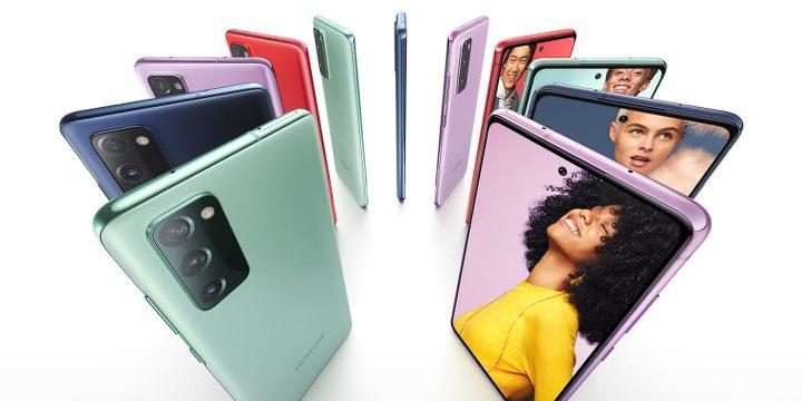 7 Colores para el SAmsung S20 FE, un candidato a top ventas