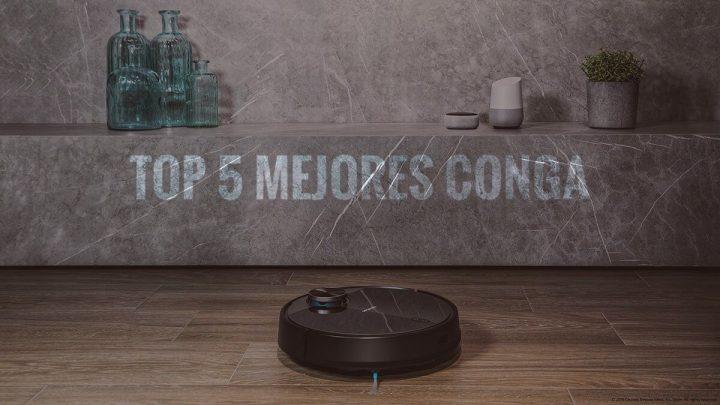 Los 5 Mejores Conga de Cecotec que debes conocer si quieres un Robot Aspirador