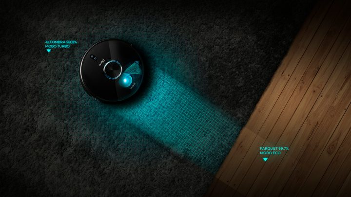 deteccion de alfombras y 50 programas de limpieza 24/7. El 7090 IA de Cecotec es posiblemente uno de los mejores aspiradores baratos a la venta en 2020.