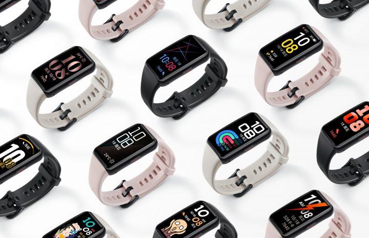 La Honor Smartband 6 esta disponible para su compra en 3 colores diferentes Negro, Rosa y Blanco