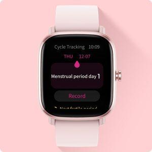Control del ciclo menstrual en el para el Amazfit GTS 2 Mini
