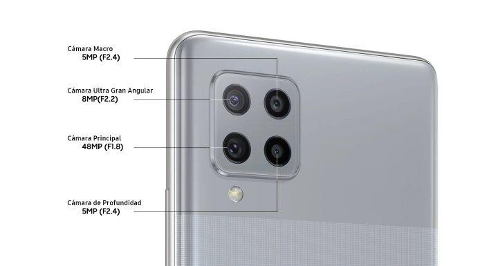 4 Cámaras para el Galaxy A42 5G