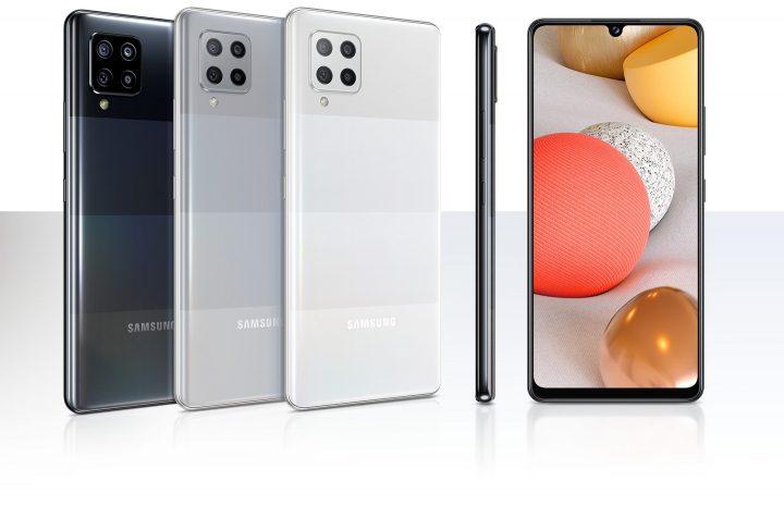 Gama de Colores del Samsung Galaxy A42, el 5G más barato de la marca coreana