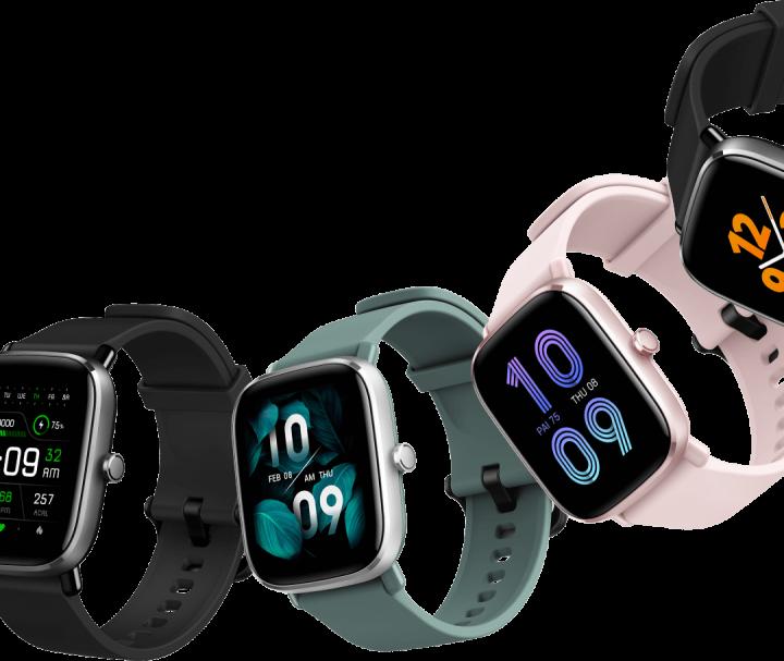 50 Watchfaces disponibles en el Amazfit GTS 2 Mini