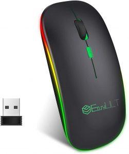 EasyULT Ratón Wifi BT Recargable