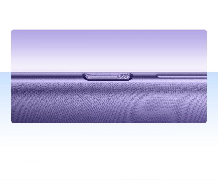El Sensor de Huellas en el lateral de Note 9T es el recurso de los telefonos económicos con panel IPS para ofrecer una experiencia de pantalla completa.
