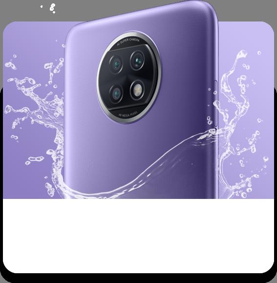 El RedMi Note 9T cuenta con resistencia a salpicaduras, una característica poco común en los móviles baratos