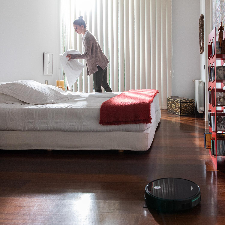 Netbot S15 2.0 el Robot Aspirador Barato personalizable que mas vende la marca Ikohs