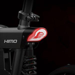 Luz LED trasera en esta e-bike Barata