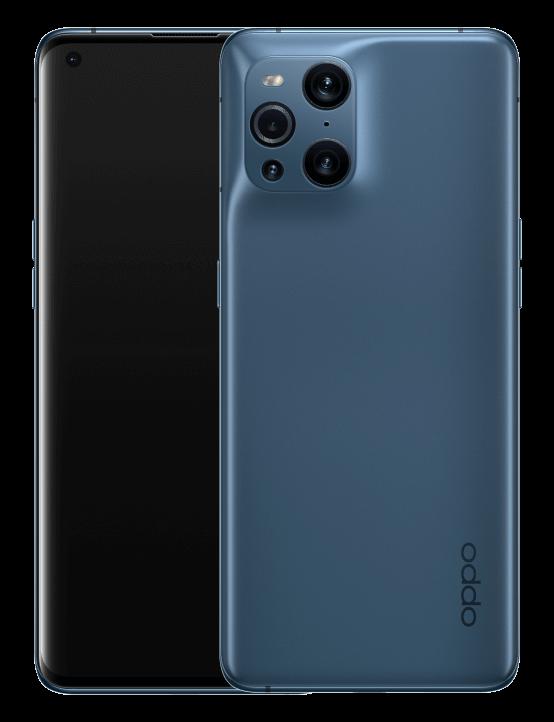 Puedes adquirir el Oppo Find X3 Pro en dos colores, un azul mate y un negro brillante. Los dos muy TOP