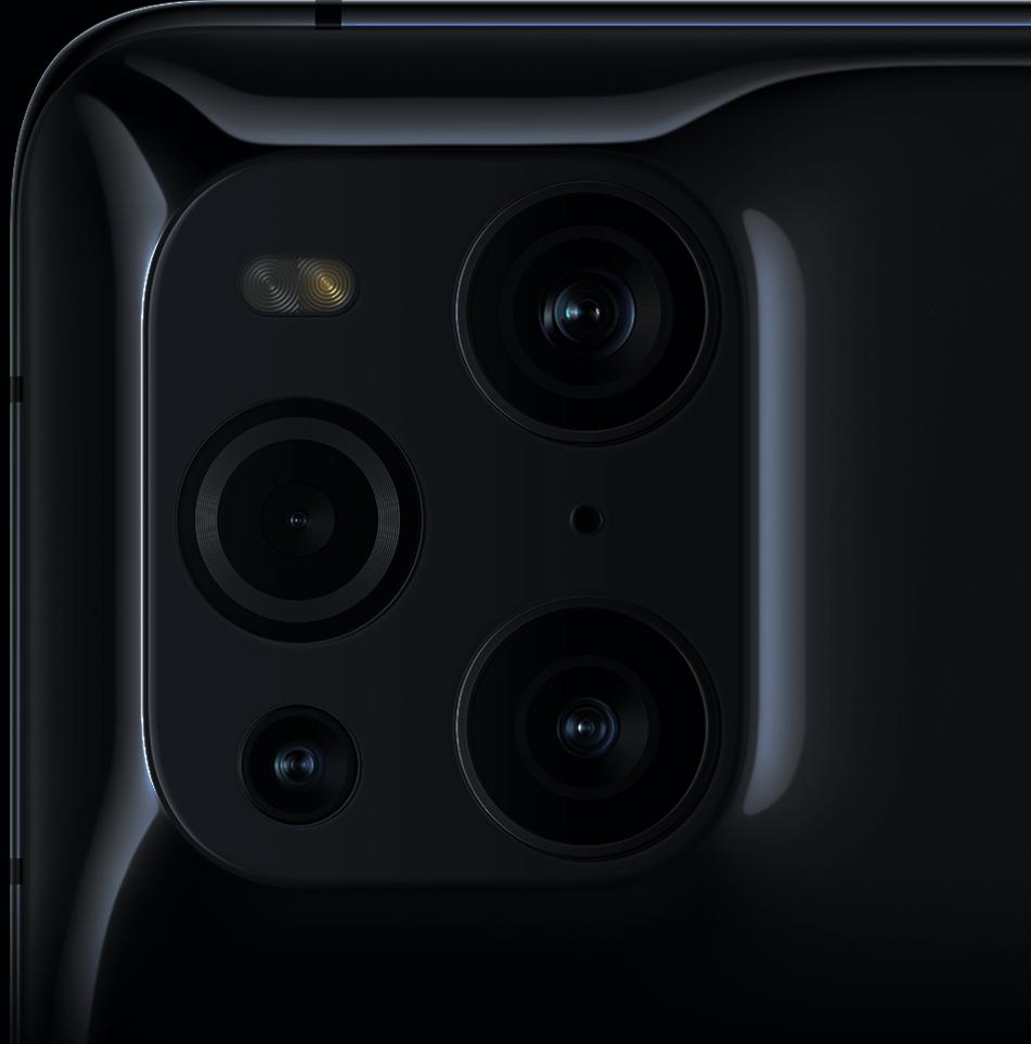 Modulo de cámaras con un diseño único en el Find X3 Pro