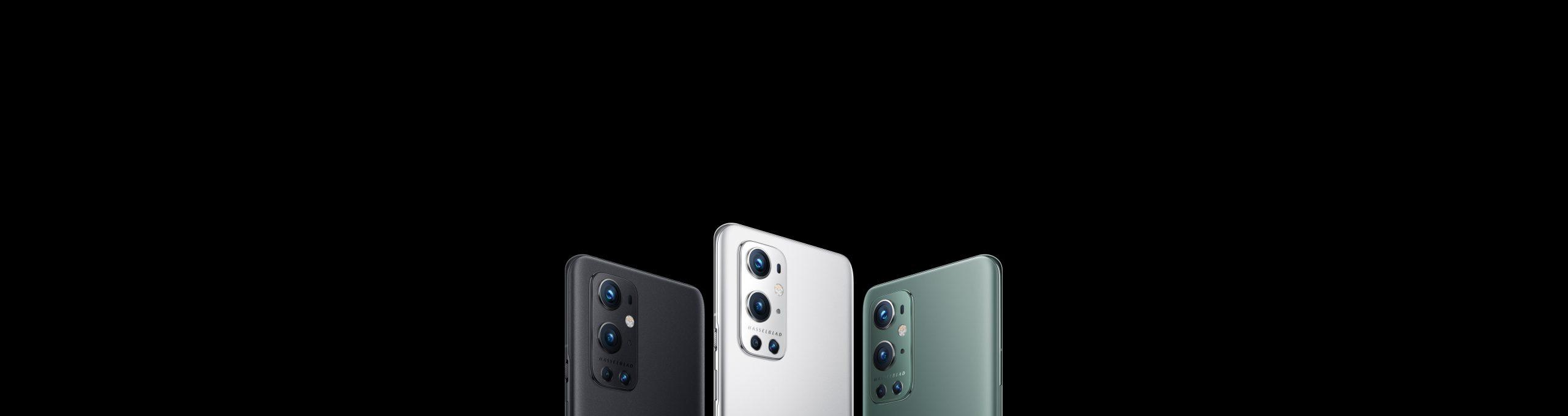 Colores del OnePlus 9 Pro: Verde, Negro y Plata