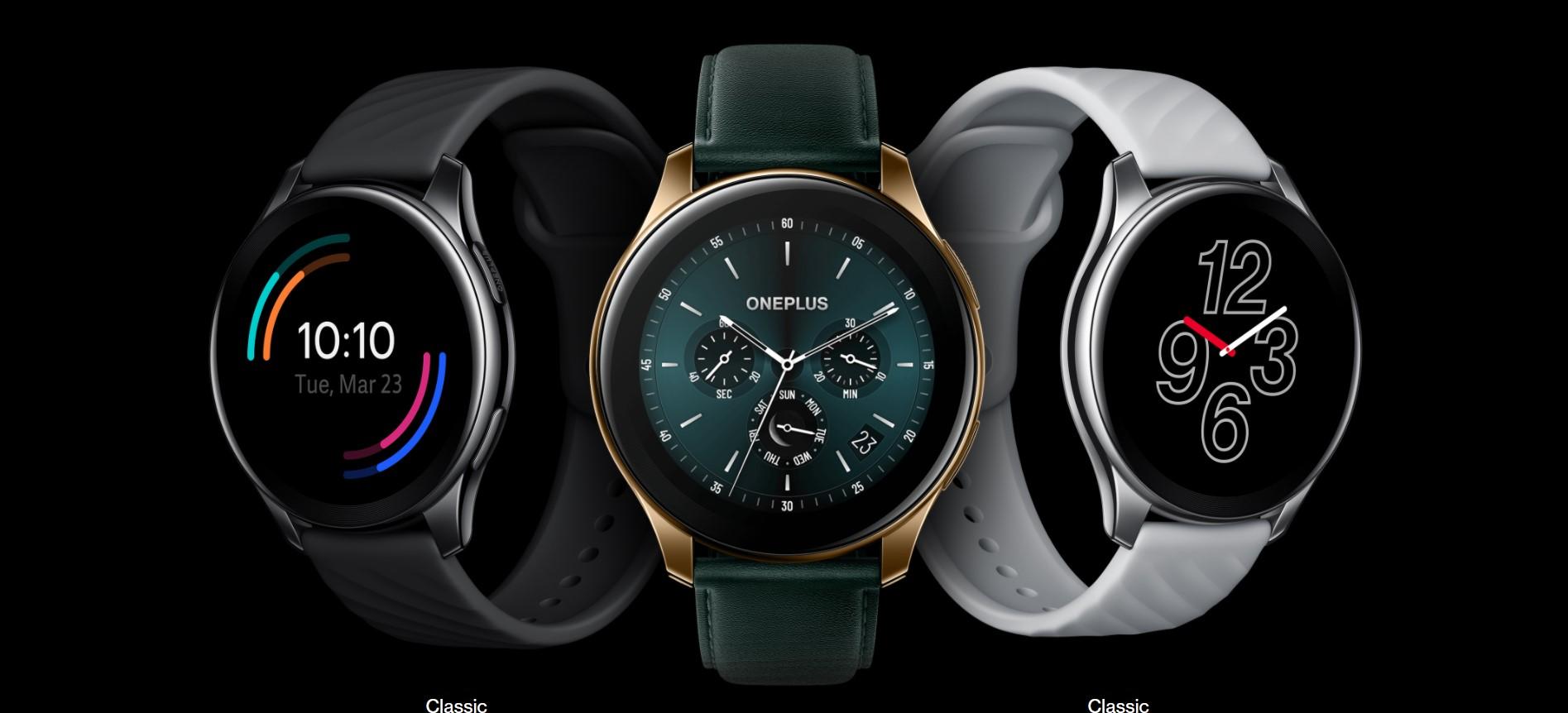 Puedes Adquirir el OnePlus Watch en 3 colores y diferentes