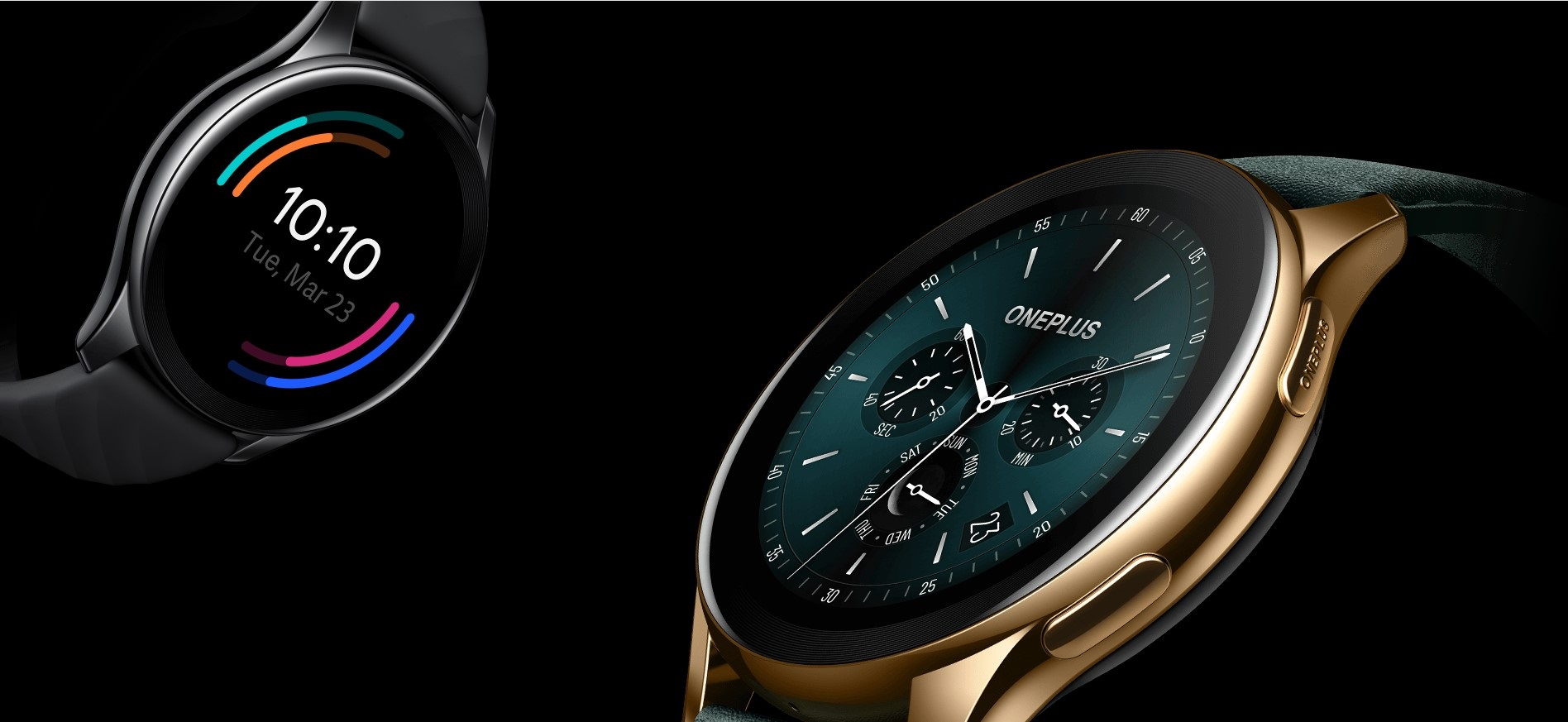 Dos Modelos en el Smartwatch de OnePlus, el Clásico es el más económico y la Edición Limitada en Cobalto la más exclusiva.