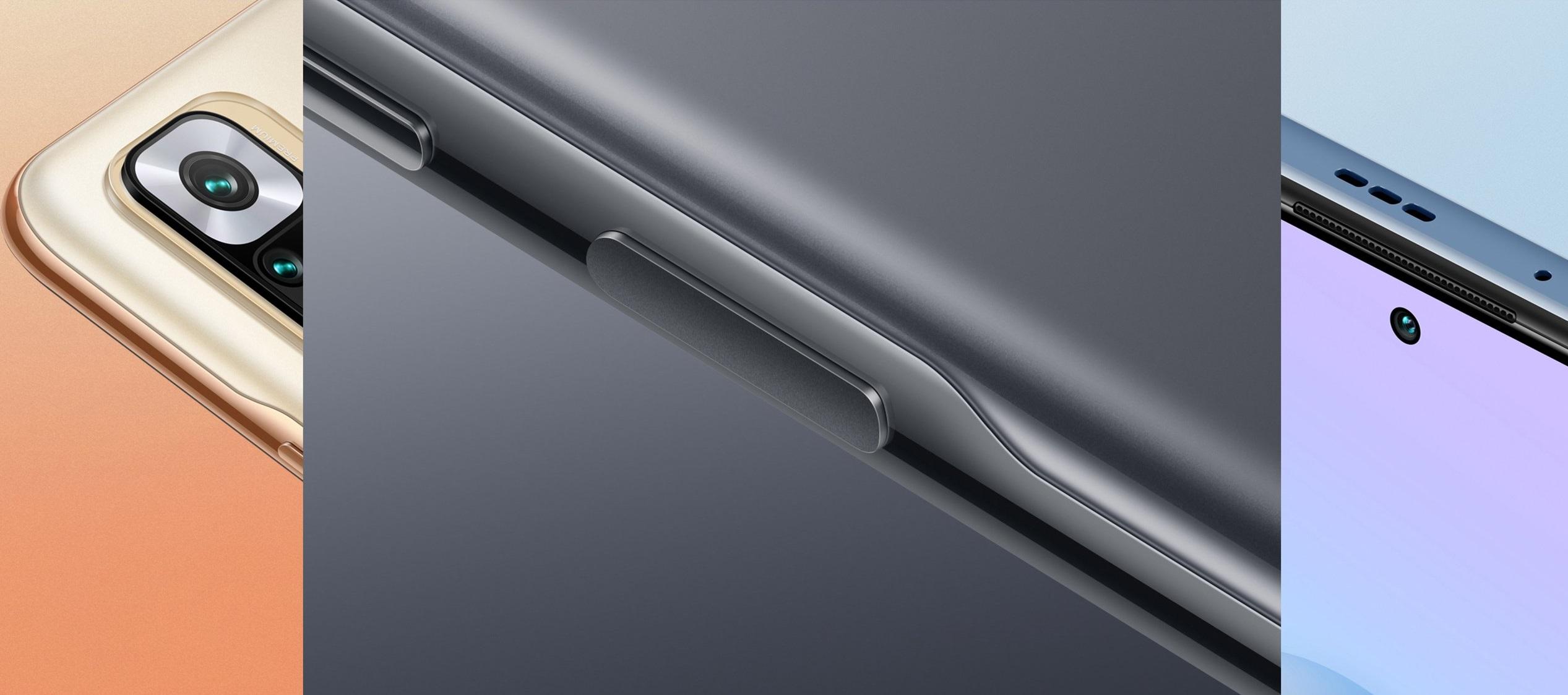 Diseño renovado en los RedMi Note 10 Pro