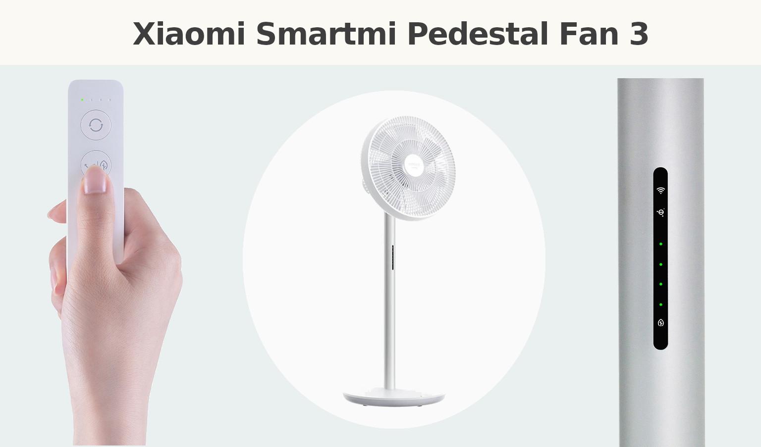 Xiaomi Smartmi Pedestal Fan 3 compralo y no esperes al Black Friday