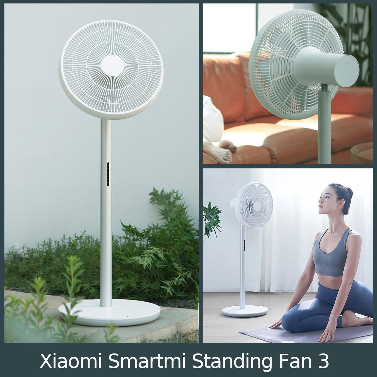 Xiaomi Smartmi Standing Fan 3 con generado de iones negativos